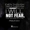 Psalm 23v4