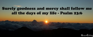 Psalm 23v6